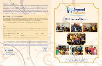 2012 Annual Report - Blacktie South Florida