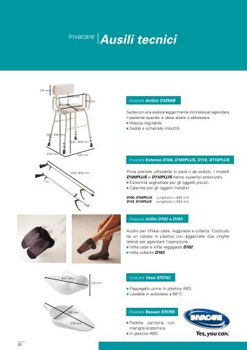 BENIT13 031 Ausili tecnici.pdf - Invacare