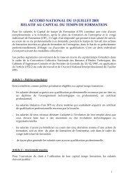 Accord national du 13 juillet 2001 relatif au ... - Syntec ingenierie