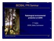 Radiological environmental protection at CERN