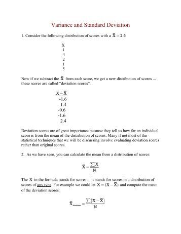 Printables Standard Deviation Worksheet variance and standard deviation worksheet davezan vintagegrn