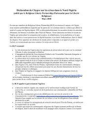 Déclaration de Chypre sur les crises dans le Nord-Nigéria - World ...