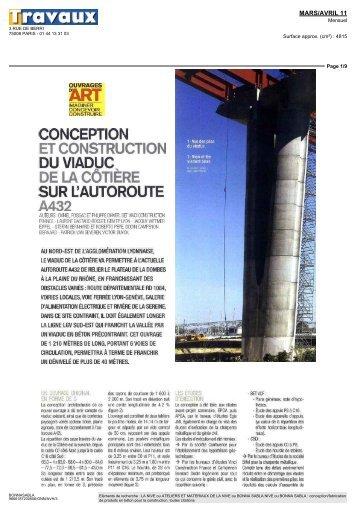 conception et construction du viaduc de la côtière sur l ... - ARTEFAC