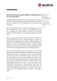 Mehr Informationen zur Spendenübergabe in der Lorenz-Fries-Schule.