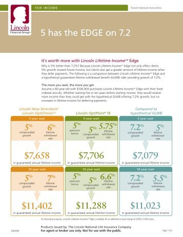 New Linc Edge Marketing Flyer - ECA Marketing
