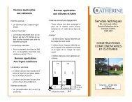 Constructions complémentaires et clôtures - Ville de Sainte ...