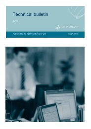 Technical bulletins - 2010 (PDF | 1.9MB)Opens in ... - Audit Scotland