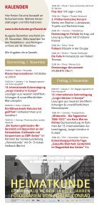 KulTuR KAlendeR - Hansestadt Greifswald - Seite 4