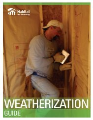 weatherization - Habitat for Humanity Choptank