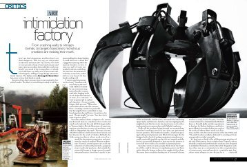 Feature on Arcangelo Sassolino in Men's Vogue - FEINKOST