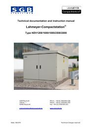 Lahmeyer-Compactstation - SMIT Transformers