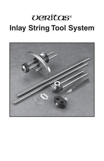Inlay String Tool System - Lee Valley Tools