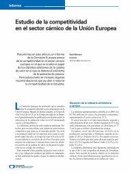 Estudio de la competitividad en el sector cárnico de la ... - Eurocarne