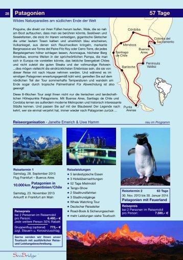 Patagonien 57 Tage