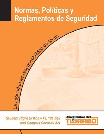Normas y Políticas y Reglamentos de Seguridad - Sistema ...