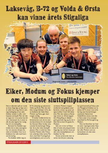 stiga-ligaen 2012-2013