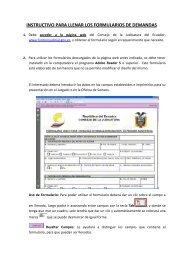 instructivo para llenar los formularios de demandas - Consejo de la ...