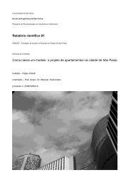 Relatório científico 01 Como nasce um modelo: o ... - Nomads.usp