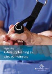 Avtalsuppföljning av vård och omsorg - Upphandlingsstöd.se