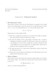 Problems for Chapter 8 1. The