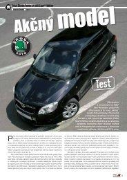 Test: Åkoda Fabia 1,4 16V Sport Edition - AutoTuning.sk