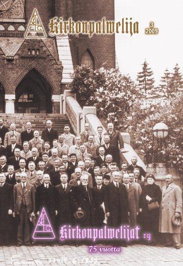 75 vuotta - Kirkonpalvelijat ry