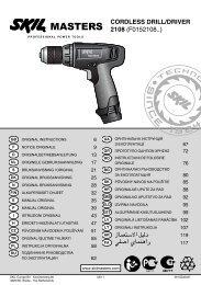 CORDLESS DRILL/DRIVER 2108 (F0152108..)