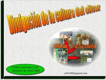 Resumen de las actividades del proyecto Olivar y Escuela (.pdf).
