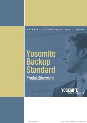 Yosemite Backup Standard - MaxData