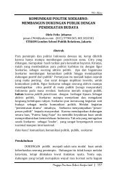 komunikasi politik soekarno: membangun dukungan publik dengan ...