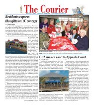 The Courier OPA Makes Case To Appeals Court