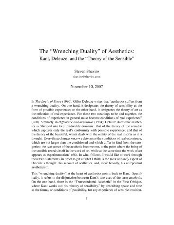 kants critic of the onthological argument Section iv the impossibility of an ontological proof 527 comment on kant's  method of argument 528 section v the impossibility of a cosmological proof  of.