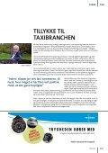 Taxierne får eneret på EP-tilladelserne - Dansk Taxi Råd - Page 3