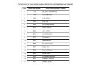 TENTATIVE LIST OF SHORTLISTED CANDIDATES FOR ... - CBSE