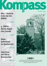 Kompass 2/2007 - Deutschen Multiple Sklerose Gesellschaft