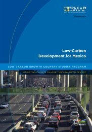 Low-Carbon Development for Mexico - Climate Change Knowledge ...