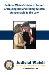 this booklet - Judicial Watch