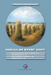 Kansalaisopiston opinto-ohjelma_syksy2007.pdf - Harjulan ...