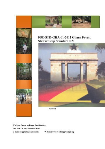 FSC-STD-GHA-01-2012 Ghana Natural and Plantations Forest