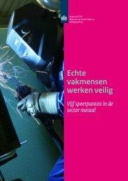Echte vakmensen werken veilig - Inspectie SZW