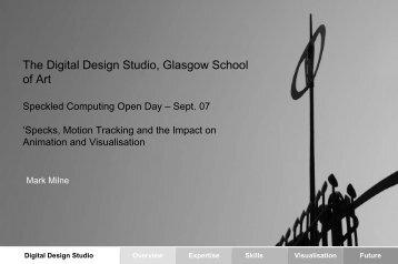 Digital Design Studio - Speckled Computing