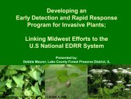 Developing An Early Detection Program For Invasive Plants in Your ...
