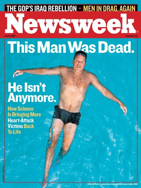 This Man Was Dead; He Isn't Anymore - Technology Partners