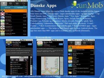 Danske Apps - RunMob