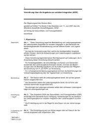 Verordnung über die Angebote zur sozialen Integration (ASIV) - VOJA