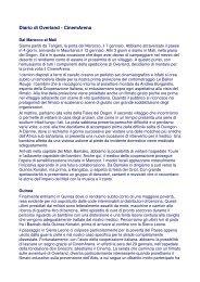 Diario di Overland - CinemArena - Cooperazione Italiana allo Sviluppo