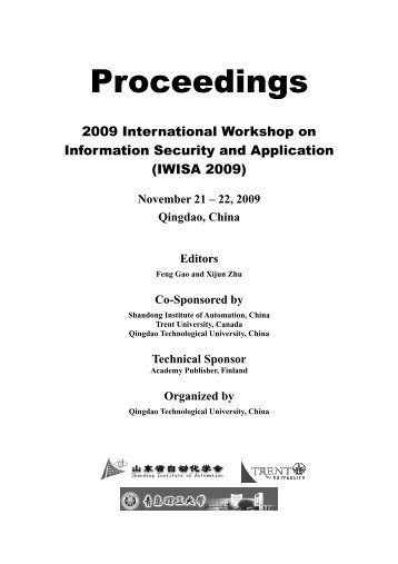 Download Proceedings in PDF - Academy Publisher