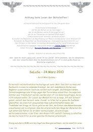 SaLuSa – 24.März 2010