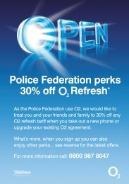 Latest Special Offers from O2 - Northumbria Police Federation