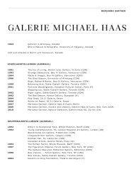 Download - Galerie Haas AG